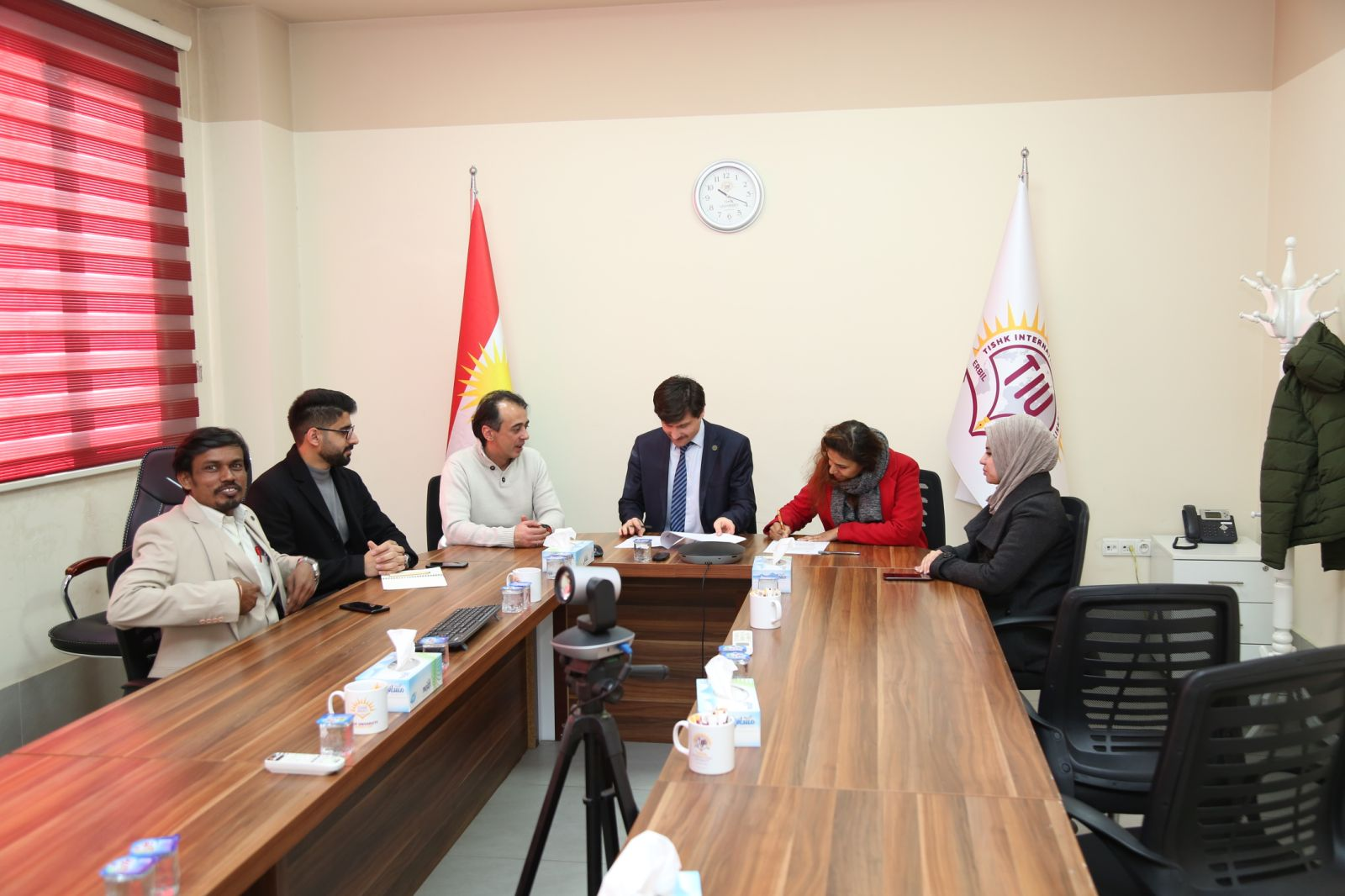 MOA signed with Field Ready Maker Space, Erbil